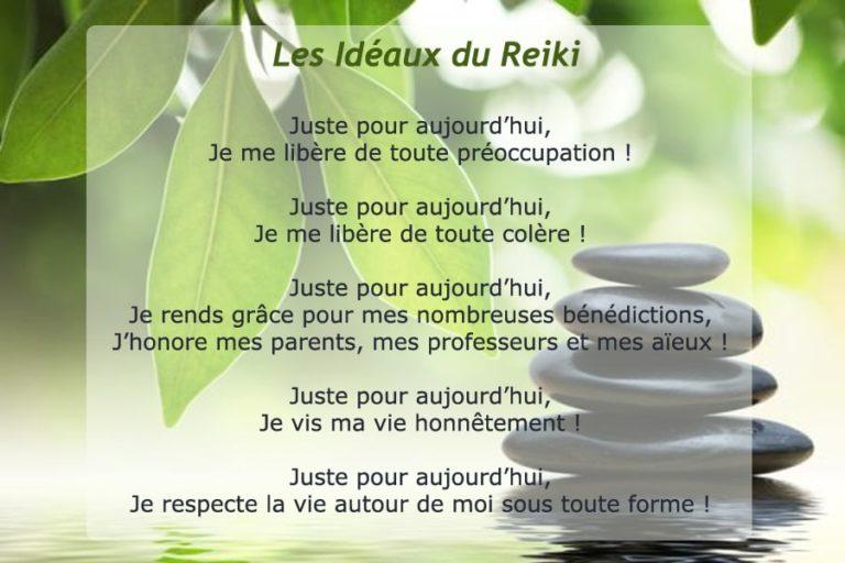 les ideaux du reiki